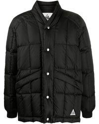 YMC スナップボタン パデッドジャケット - ブラック