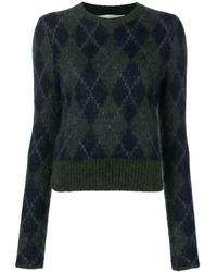 Victoria Beckham ラウンドネック セーター - グリーン