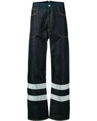Junya Watanabe - Reflective Details Work Jeans - Lyst