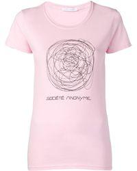 36d0d3ac Scribble T-shirt - Pink