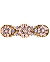 Dolce & Gabbana Haarspange mit Prägung - Mettallic
