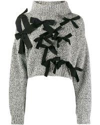 BROGNANO - クロップドセーター - Lyst