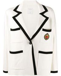 Sandro Sunset Crest Knitted Blazer - Multicolour