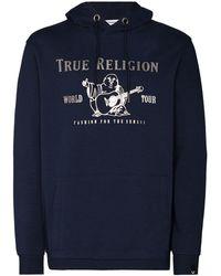 True Religion World Tour パーカー - ブルー