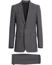 Burberry - Slim Fit English Pinstripe Wool Suit - Lyst