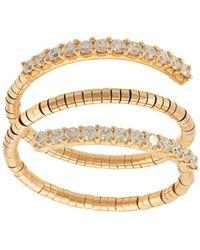 Mattia Cielo 18kt Rose Gold Diamond Triple Ring - Metallic
