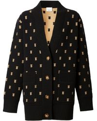 Burberry Oversized Vest - Zwart
