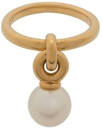Mulberry Grace Small Brass Ring - Metallic