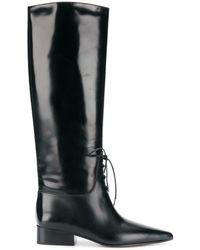 Off-White c/o Virgil Abloh High Boots - Черный