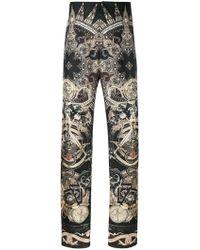 Roberto Cavalli - Paisley Mix Print Pyjama Pants - Lyst