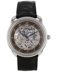 Hermès 2010s Pre-owned Arceau Wrist Watch - Brown