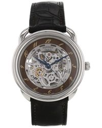 Hermès 2010s プレオウンド Arceau 腕時計 - ブラウン