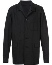 Undercover Denim overcoat - Nero