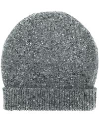 Thom Browne - Striped Tweed Jersey Hat - Lyst