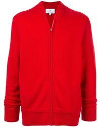 Calvin Klein Кардиган На Молнии С Длинными Рукавами - Красный