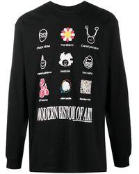 Chinatown Market Modern Art Tシャツ - ブラック