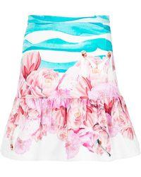 Isolda Printed Skirt - Многоцветный