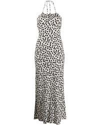 RIXO London ポルカドット ドレス - マルチカラー