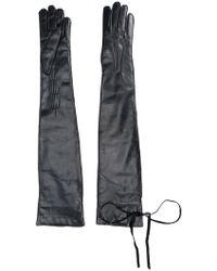 Ann Demeulemeester - Long Gloves - Lyst