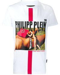 Philipp Plein Футболка Tony Kelly - Белый