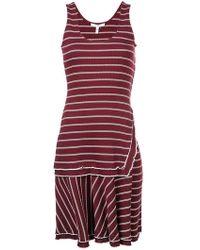 10 Crosby Derek Lam - Layered Tank Dress - Lyst