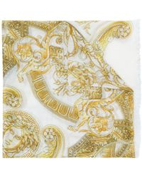 Versace - Pañuelo con estampado barroco - Lyst