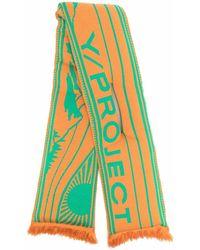 Y. Project ロゴ スカーフ - オレンジ