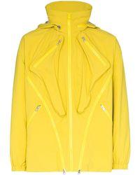 Paria Farzaneh Packable Zip-detailed Jacket - Yellow