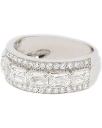 Kwiat 18kt White Gold Diamond Ring - Metallic