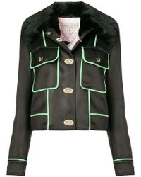 Emilio Pucci - Cropped Pockets Embellished Jacket - Lyst