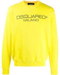 DSquared² 'Milano' Sweatshirt - Gelb