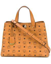 MCM - Essential Tote Bag - Lyst