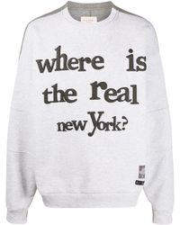 Buscemi Real New York スウェットシャツ - グレー