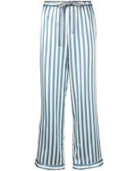Morgan Lane Pantalones Chantal - Azul