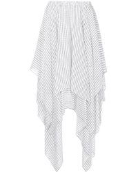 Preen Line - Striped Handkerchief Skirt - Lyst