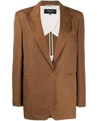 Rochas Quasimodo シングルジャケット - ブラウン