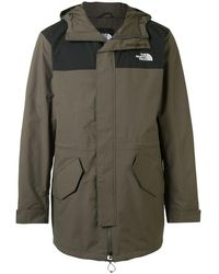 The North Face City Breeze Hooded Coat - Green