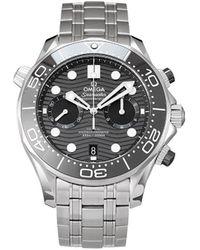 Omega - Наручные Часы Seamaster Diver Pre-owned 44 Мм 2020-го Года - Lyst