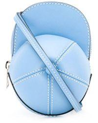 JW Anderson Bolso nano con diseño de gorra - Azul
