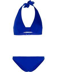 Eres Top bikini a triangolo - Blu