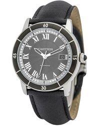 Cartier Reloj Ronde Croisiere de 42mm 2000 - Negro