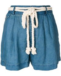 Polo Ralph Lauren - Rope Tie Shorts - Lyst