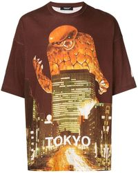 Undercover T-shirt Tokyo - Rouge