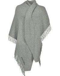 Pinko ロゴ スカーフ - グレー
