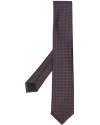 Corneliani Paisley Jacquard Tie - ピンク