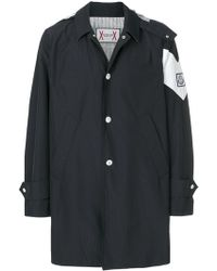 Moncler - Single Breasted Coat - Lyst