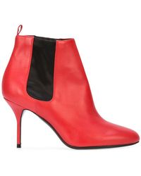 Pierre Hardy - Elastic Panel Stiletto Boots - Lyst