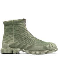 Camper Ботинки Pix Из Переработанного Хлопка - Зеленый