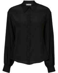 Rockins - Bell Sleeve Shirt - Lyst