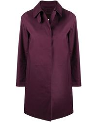 Mackintosh Пальто Dunoon - Пурпурный